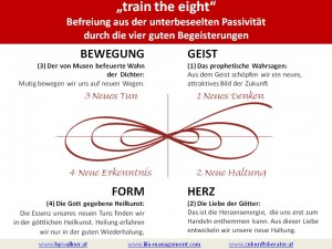 train the eight - Begeisterung statt Besessenheit - Wallner 2009