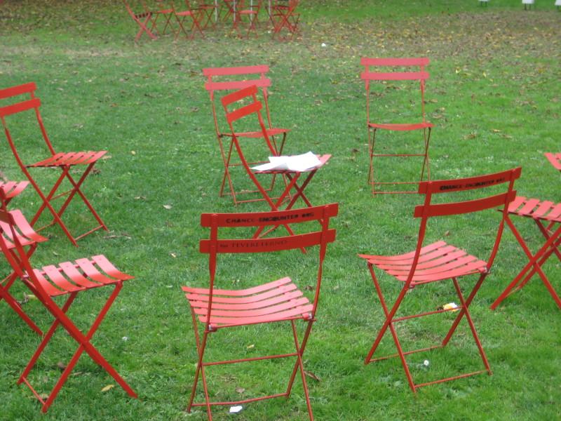 Dialog im Sesselkreis