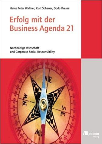 Coverbild des Buches: Erfolg mit der Businesss Agenda 21
