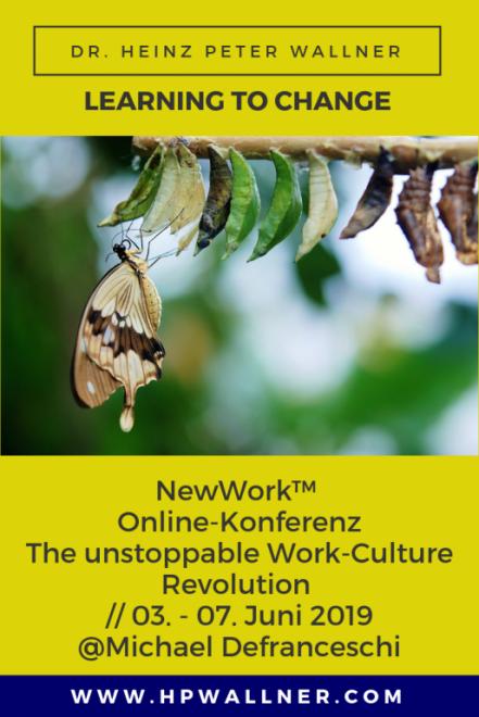 Bild für die ONLINE-Konferenz: The unstoppable Work-Culture Revolution 2019 Wie Du Dein Unternehmen für die neue Arbeitsrevolution zukunftssicher machst und gleichzeitig Innovationen beschleunigst.